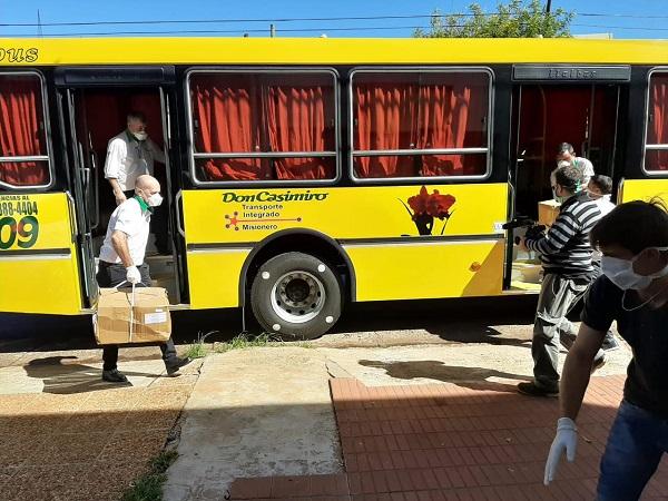 Donan dos mil sábanas para uso hospitalario en Misiones