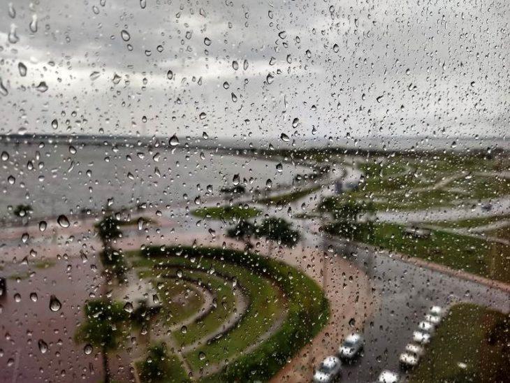 Lunes con lluvias y tormentas en todo Misiones