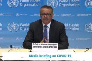 """La OMS apuesta por levantar restricciones por regiones dentro de un mismo país y recomiendan que las medidas se adopten basándose """"en la protección de la salud humana"""""""