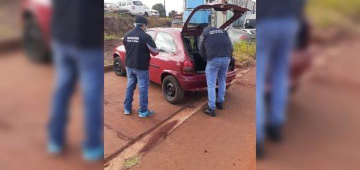 Operativo policial en San Vicente: recuperan un auto robado en Buenos Aires