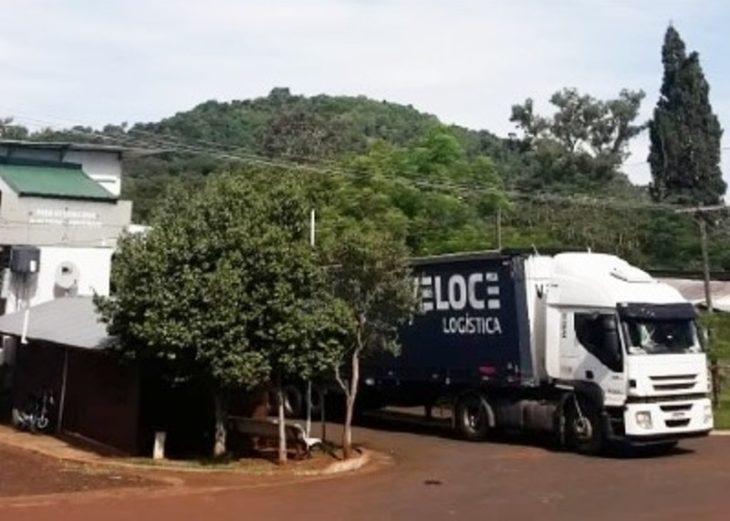 Coronavirus: ante reclamos en Alba Posse, señalan que la frontera no está cerrada para el transporte de cargas