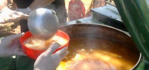 Coronavirus: en Eldorado se sumaron más barrios y esta semana se están entregando más de 5mil raciones de comida