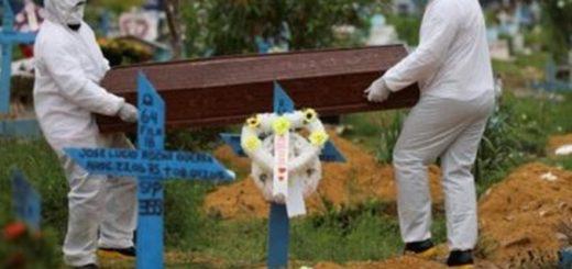 Récord de muertes por coronavirus en Brasil