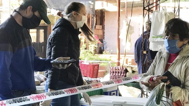 Coronavirus: por la alta demanda, este fin de semana volverán a funcionar las Ferias Francas de Posadas
