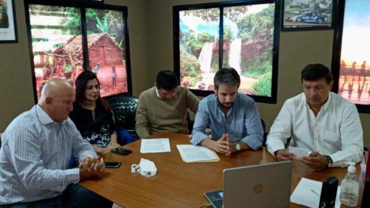 Coronavirus: por videoconferencia, el sector turístico de Iguazú planteó al gobernador la problemática que atraviesan