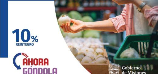Coronavirus: recuerdan que hoy aplica el Ahora Góndola con el 10% de reintegro para compras de productos de primera necesidad