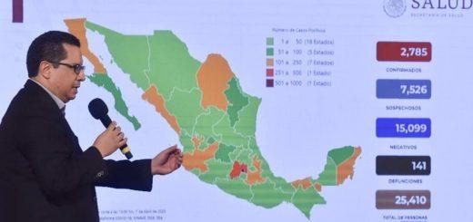 Coronavirus: en México extienden la cuarentena hasta el 30 de mayo por un salto en los casos positivos y fallecidos por la enfermedad