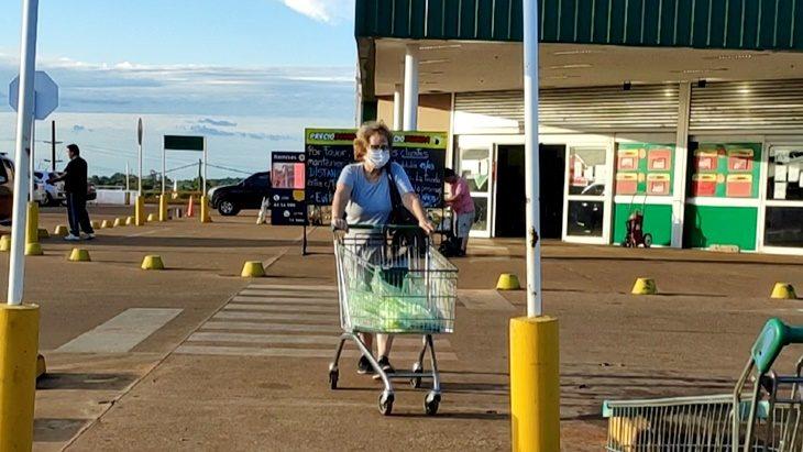 Coronavirus: es la falsa la noticia sobre que una una cadena de supermercados en Posadas atienda según terminación número de DNI