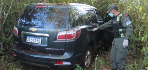 Gendarmería halló una camioneta abandonada con más de mil kilos de marihuana en Eldorado