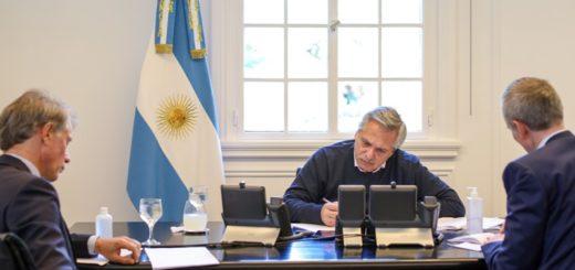 Alberto Fernández se comunicó con Emmanuel Macron y le agradeció el acompañamiento de Francia ante el FMI y el Club de París