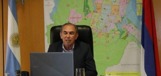 Stelatto reclamó al presidente Fernández apoyo financiero para obras de saneamiento en Posadas