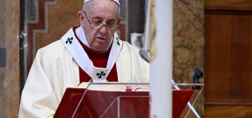 """Coronavirus: el Papa Francisco advirtió sobre el peligro del egoísmo indiferente como """"un virus peor"""""""