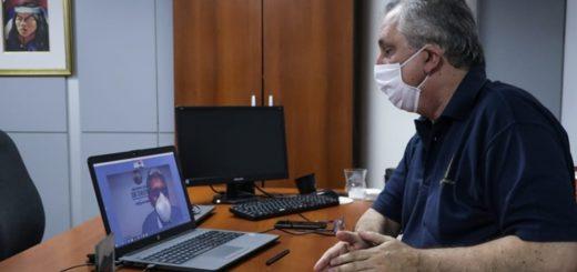 Coronavirus: Passalacqua dialogó con el Intendente de Oberá por la pandemia y valoró las acciones en el municipio