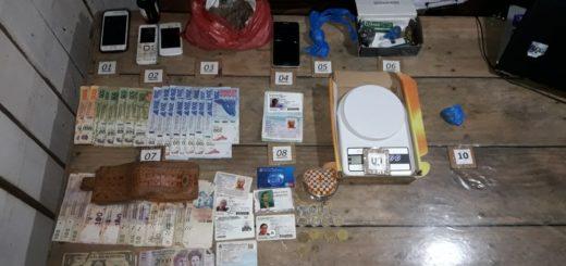 La Policía desbarató un kiosco narco en Alem