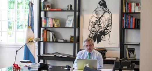 """""""Un mes de aislamiento social, preventivo y obligatorio"""" la carta de Alberto Fernández a los argentinos"""