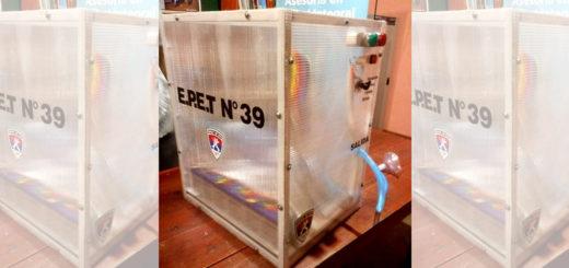 Ya se encuentra en fase de prueba el respirador creado por alumnos de la EPET N°39 de El Soberbio