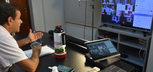 El Gobernador de Misiones presidió por videoconferencia la reunión de la Mesa Paritaria Docente