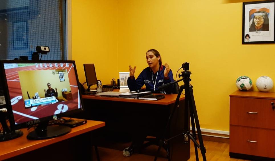 Coronavirus: el ministerio de Deportes brinda contención a deportistas a través de capacitaciones y charlas online