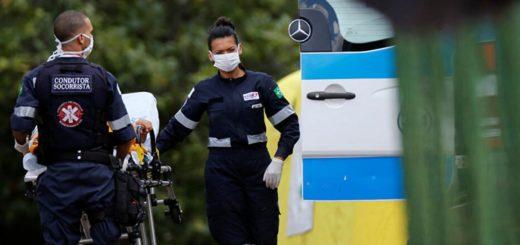 Coronavirus en Brasil: se registraron 165 muertes en 24 horas