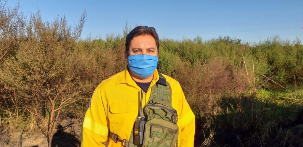 """No descartan al """"factor humano"""" como responsable del incendio que quemó 70 hectáreas de un descampado en Posadas"""
