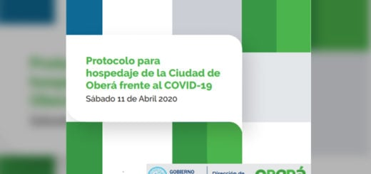 """El Gobierno de la ciudad de Oberá presentó un proyecto de """"Protocolo para hospedaje de la Ciudad de Oberá frente al COVID-19"""""""