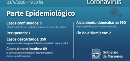 Coronavirus: se han descartado 350 casos en Misiones