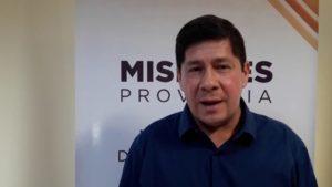"""#Coronavirus: Alarcón aclaró que pasaron más de 14 días desde que el camionero de San Vicente ingresó a la provincia, """"y si hubiera contagiado a otra persona, ya tendría síntomas"""""""