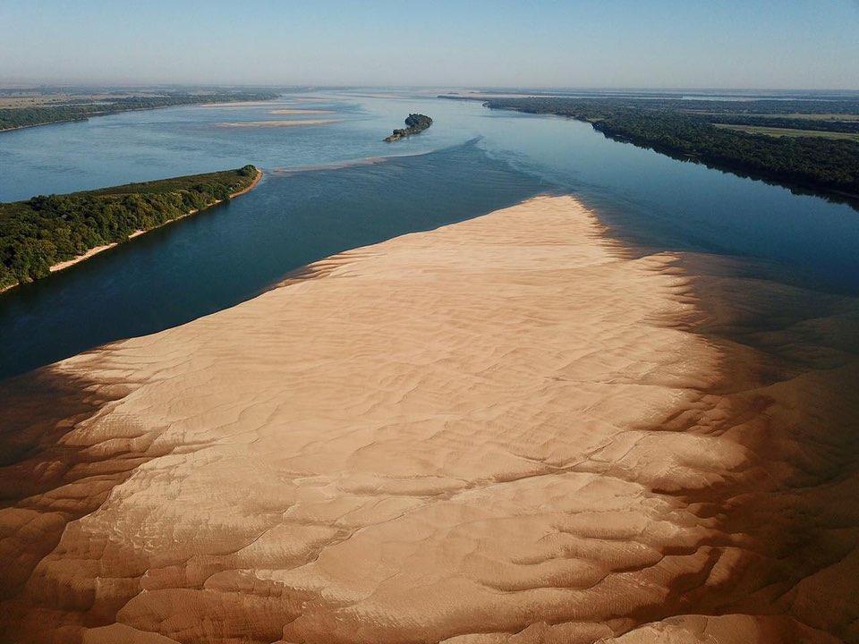 """La cuenca del Río Paraná cada vez más seca: """"Hay que detener la pesca desde el Litoral hasta Buenos Aires y adoptar urgentes políticas para prevenir mayores daños ambientales"""""""