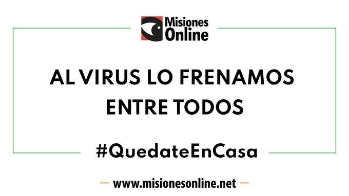 Coronavirus: Misiones tiene seis casos positivos confirmados y suma 1.095 personas en aislamiento domiciliario