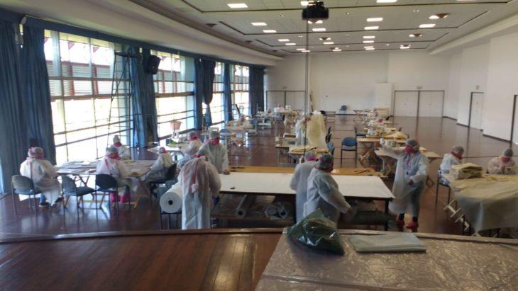 Coronavirus: el Parque del Conocimiento alberga uno de los centros de elaboración de productos médicos