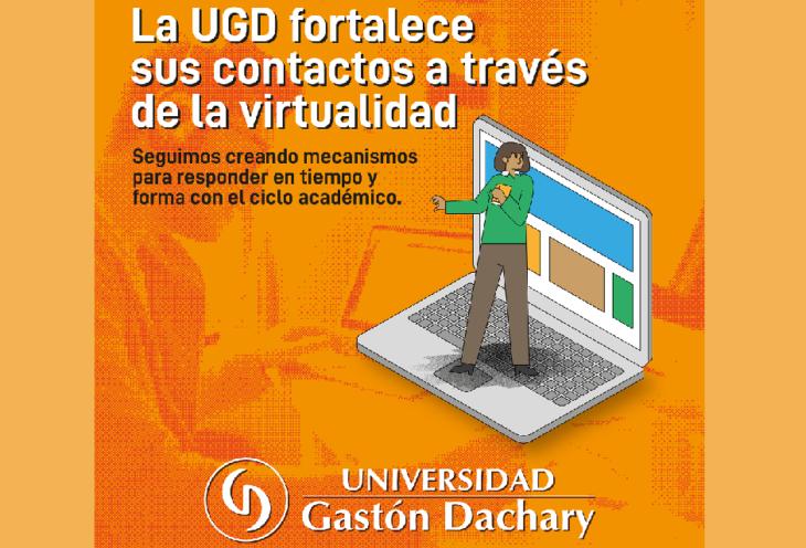 La UGD fortalece sus contactos a través de la virtualidad