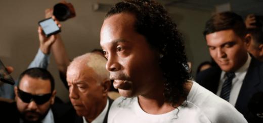 Ronaldinho rompió el silencio desde su prisión domiciliaria en Paraguay