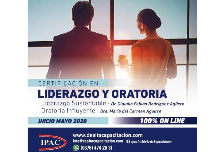 Ahora podés acceder a la Certificación en Liderazgo y Oratoria brindada por el IPAC a través de Compras Misiones