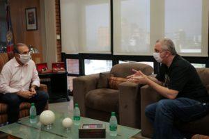 Passalacqua visitó al intendente Stelatto y ofreció su colaboración desde la Legislatura