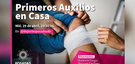 Coronavirus: aprendé primeros auxilios de forma online en un curso que ofrece la municipalidad de Posadas