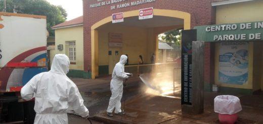 Coronavirus: el Municipio de Posadas realizó operativos de desinfección en cuatro zonas de la ciudad