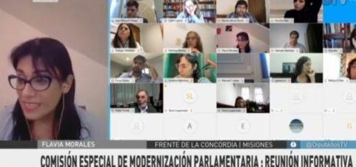 #Coronavirus: Flavia Morales capacitará a los legisladores que sesionarán de manera remota en la Cámara de Diputados de la Nación
