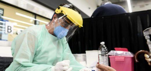 Coronavirus: detectaron el primer positivo de anticuerpos en los testeos rápidos en la terminal de Retiro