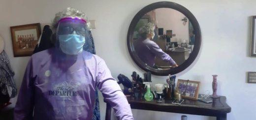 """Saldo positivo para la primera semana de reapertura de las peluquerías de Posadas en medio de la pandemia: """"Trabajamos muy bien con todas las medidas de seguridad"""", afirmó José Tabares"""