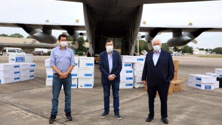 Coronavirus: el Gobierno nacional entregó 26.000 tests de diagnóstico y 275 respiradores a todas las provincias