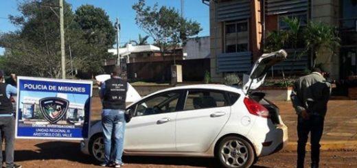 Detuvieron en Aristóbulo del Valle a un sospechoso con antecedentes mientras manejaba un auto que fue robado en Buenos Aires