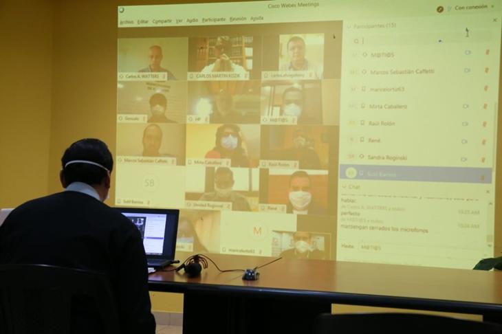 Coronavirus: en Eldorado el intendente Fabio Martínez reforzó las medidas de seguridad y prevención tras la primera reunión audiovisual con el Comité de Crisis