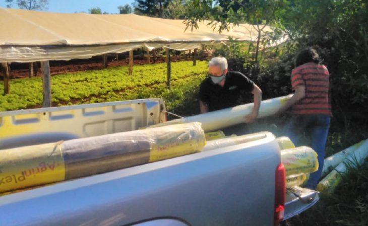 Cerca de 200 productores hortícolas misioneros recibieron insumos para aumentar la producción de alimentos