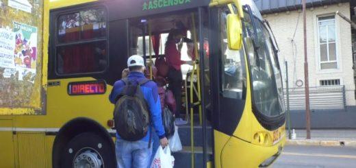 Coronavirus: Nación sumó más medidas de prevención en el transporte público y aún no se evidencian los cambios en Posadas