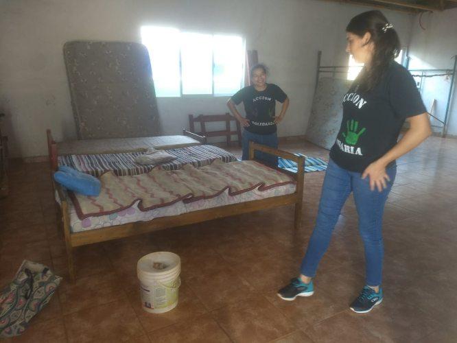 """Héroes cotidianos: """"ayudar es un don"""", la madre de Aristóbulo que con un grupo de voluntarios asiste a las familias más pobres"""