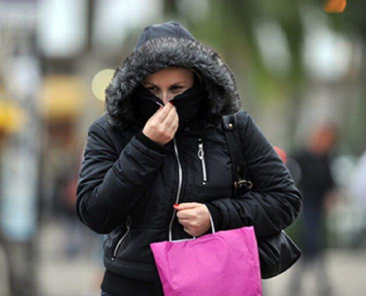 Un frente frío cubrirá toda la provincia con temperaturas de hasta 4°, según la Dirección de Alerta Temprana