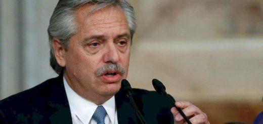 """Alberto Fernández dijo que """"salir ya de la cuarentena es llevar a la muerte a miles de argentinos"""""""