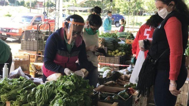 Coronavirus: más de 30 agentes municipales colaborarán en las Ferias Francas