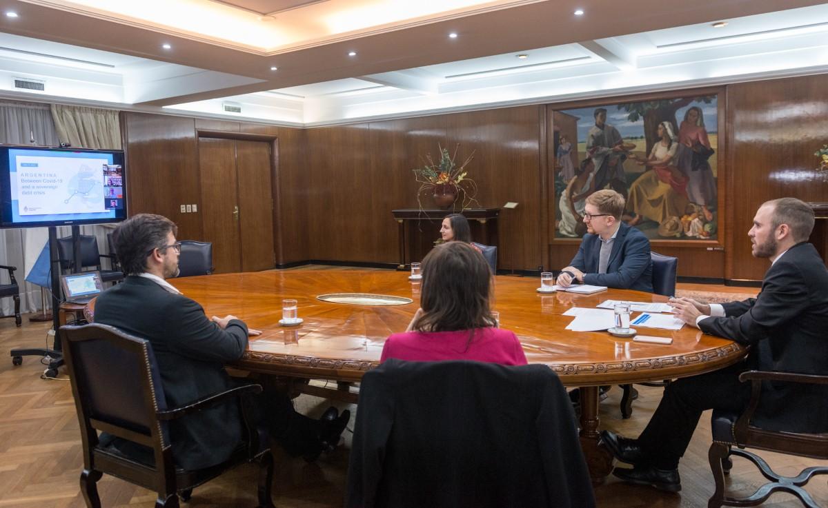 """Martín Guzmán: """"Restaurar la sostenibilidad de la deuda es política de Estado y Argentina está unida en este proceso"""""""