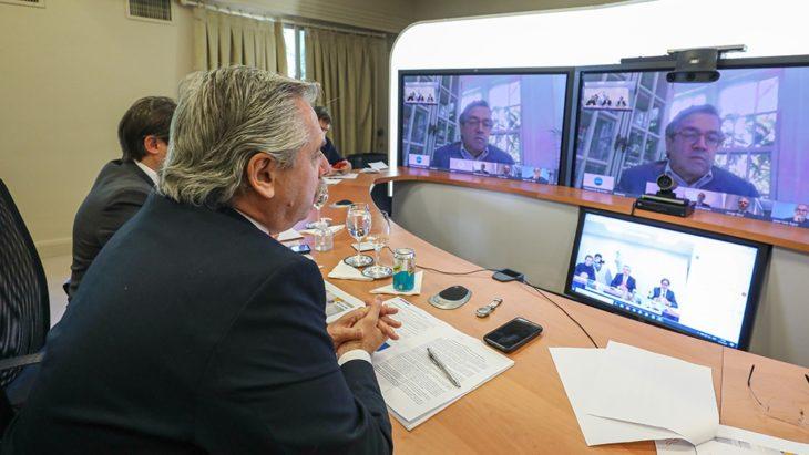 El Presidente recibió el apoyo del BID, que desembolsará este año 1800 millones de dólares a Argentina